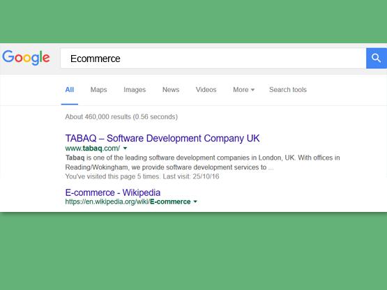 Tabaq search engine optimisation SEO marketing