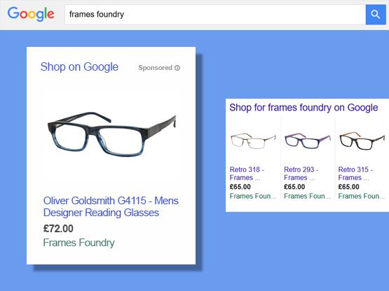 Tabaq google shopping marketing